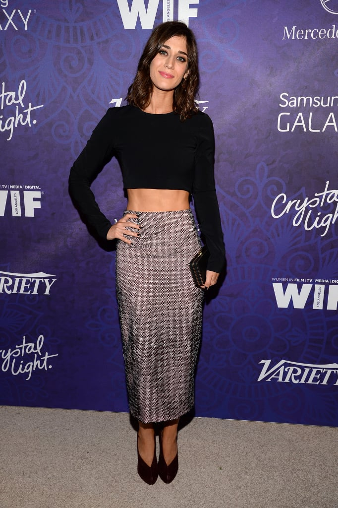 Lizzy Caplan at the Variety and Women in Film Emmy Nominee Celebration