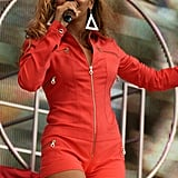 At a Performance in the UK in 2003
