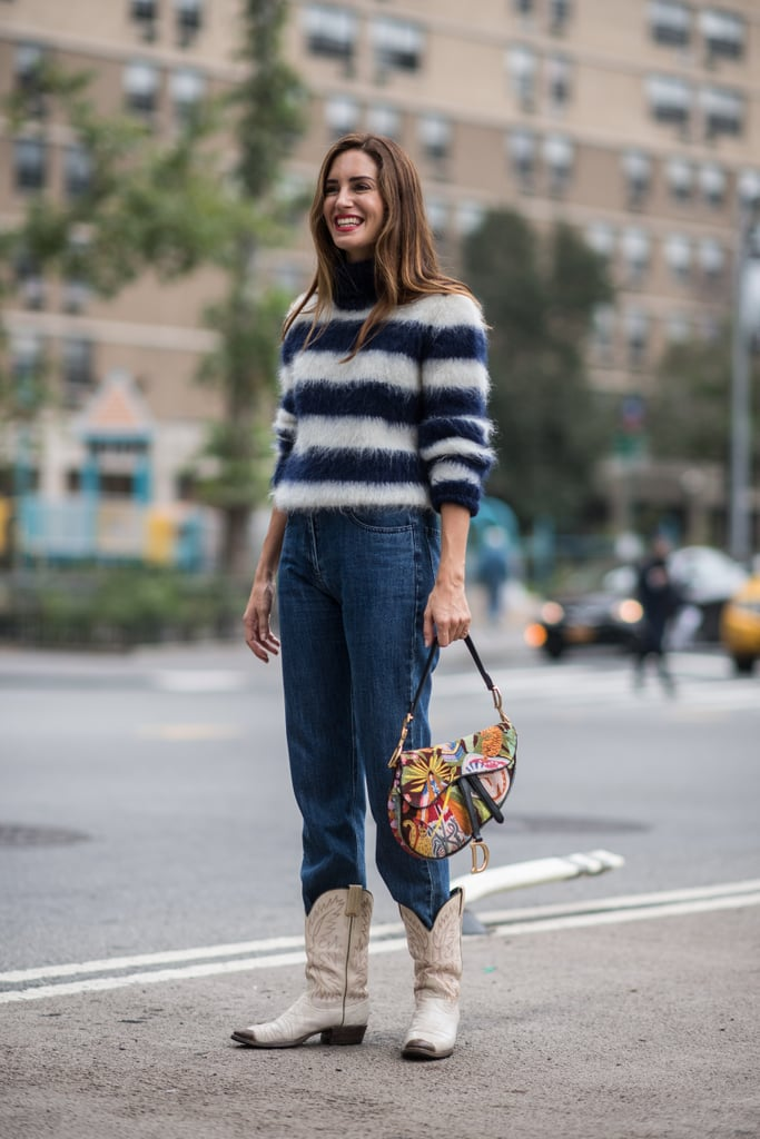 Tuck Your Jeans Into Cool Cowboy Boots, Instead of Opting For the Same Old Sneakers