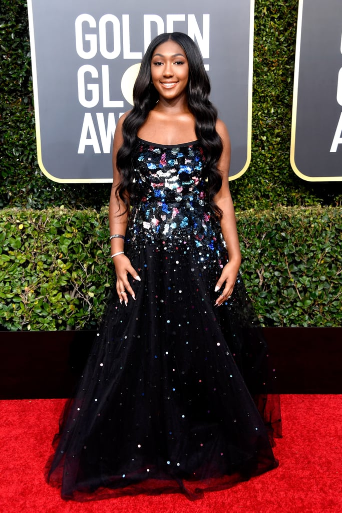 Isan Elba at the 2019 Golden Globes