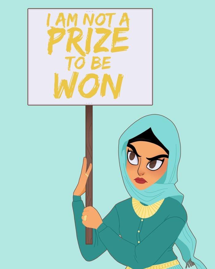 Protest Princess: Jasmine ($17)