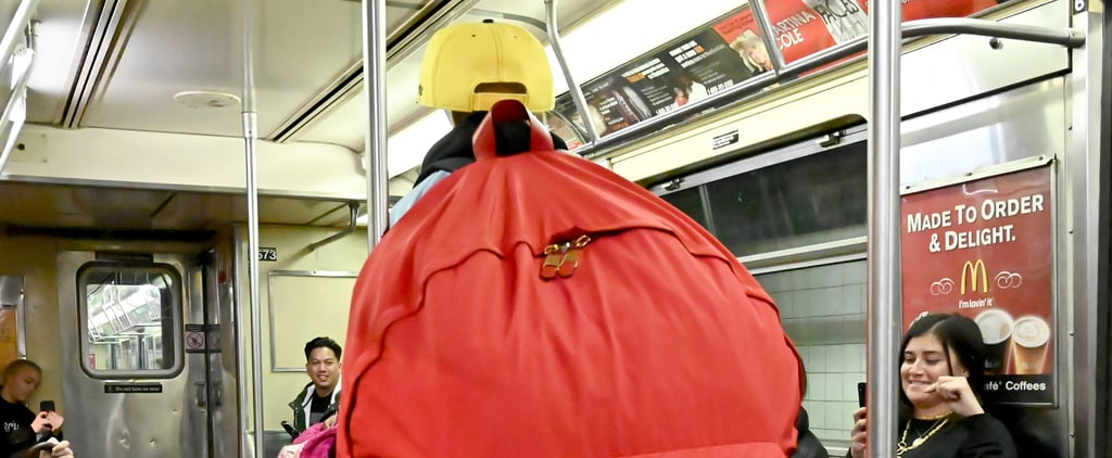 Moschino Designed Ridiculously Large Backpacks