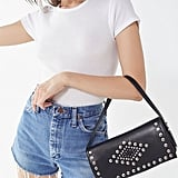 Urban Outfitters Studded Baguette Bag