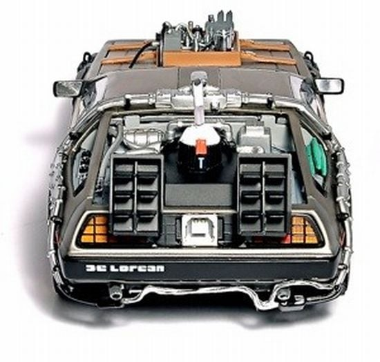 Photos of the DeLorean Hard Drive