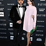 She Supported Her Boyfriend at the Harper's Bazaar Icons Party in New York . . .