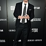 Eric Balfour wore a suit.