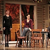 Katie Holmes was on stage in Dead Accounts in NYC.