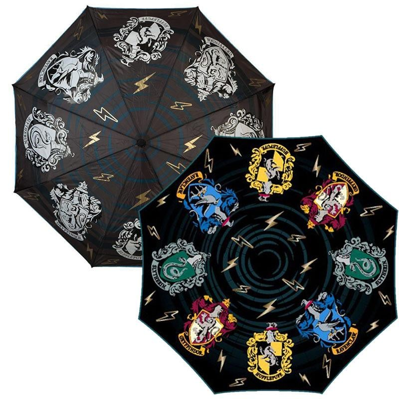 We know the drill: when you wake up and look out the window only to see raindrops hitting your window, the last thing you want to do is crawl out of bed to start your day. Fortunately, all the Hogwarts fans out there have something to look forward to as they dodge puddles on the way to school: this incredible Color-Changing Harry Potter Umbrella ($30). And no, the umbrella doesn't change colors on account of a bewitching spell; all it takes is a little rain for it to go from black and white to full-on colorful. Whether you're a Hufflepuff or a Ravenclaw, there's seriously something so sophisticated about those house crests. Scroll through to see this awesome product up close.       Related:                                                                                                           Hogwarts Is in Session! There's a Limited-Edition Harry Potter Trivial Pursuit, and It's Magical               Image Source: Unsplash user Shehran Syed