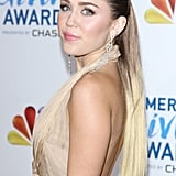 Miley Cyrus at the American Giving Awards in December 2011