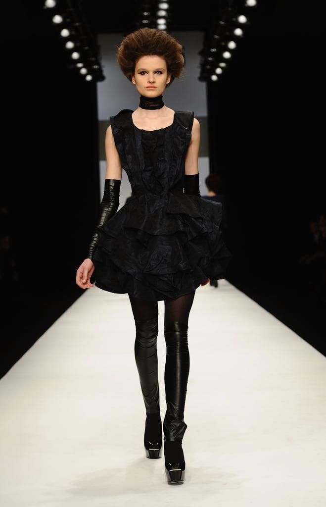 Photos of Paul Costelloe at London Fashion Week