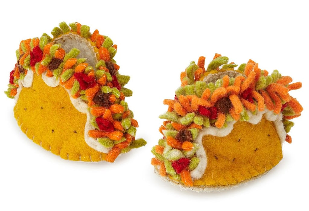Cute Taco Booties For Babies — They Come With Cheese!