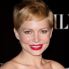 Michelle Williams' Hair and Makeup at the Paris Premiere of My Week With Marilyn