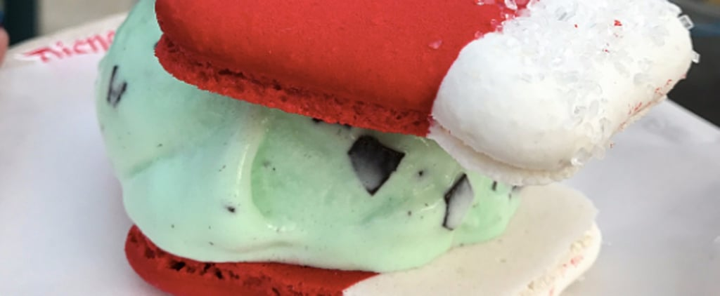 Santa's Mittens Macarons at Disneyland Are About to Jump to the Top of Your Wish List