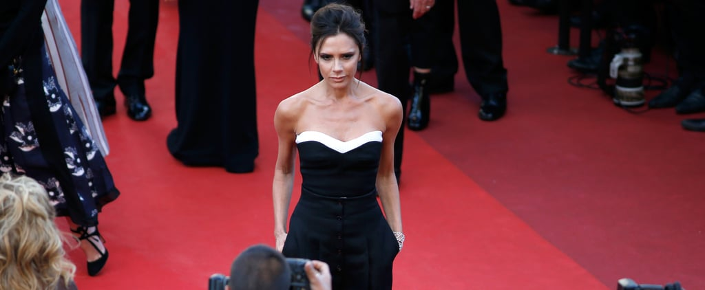 Victoria Beckham Pulls the Chillest Fashion-Girl Move on the Cannes Red Carpet