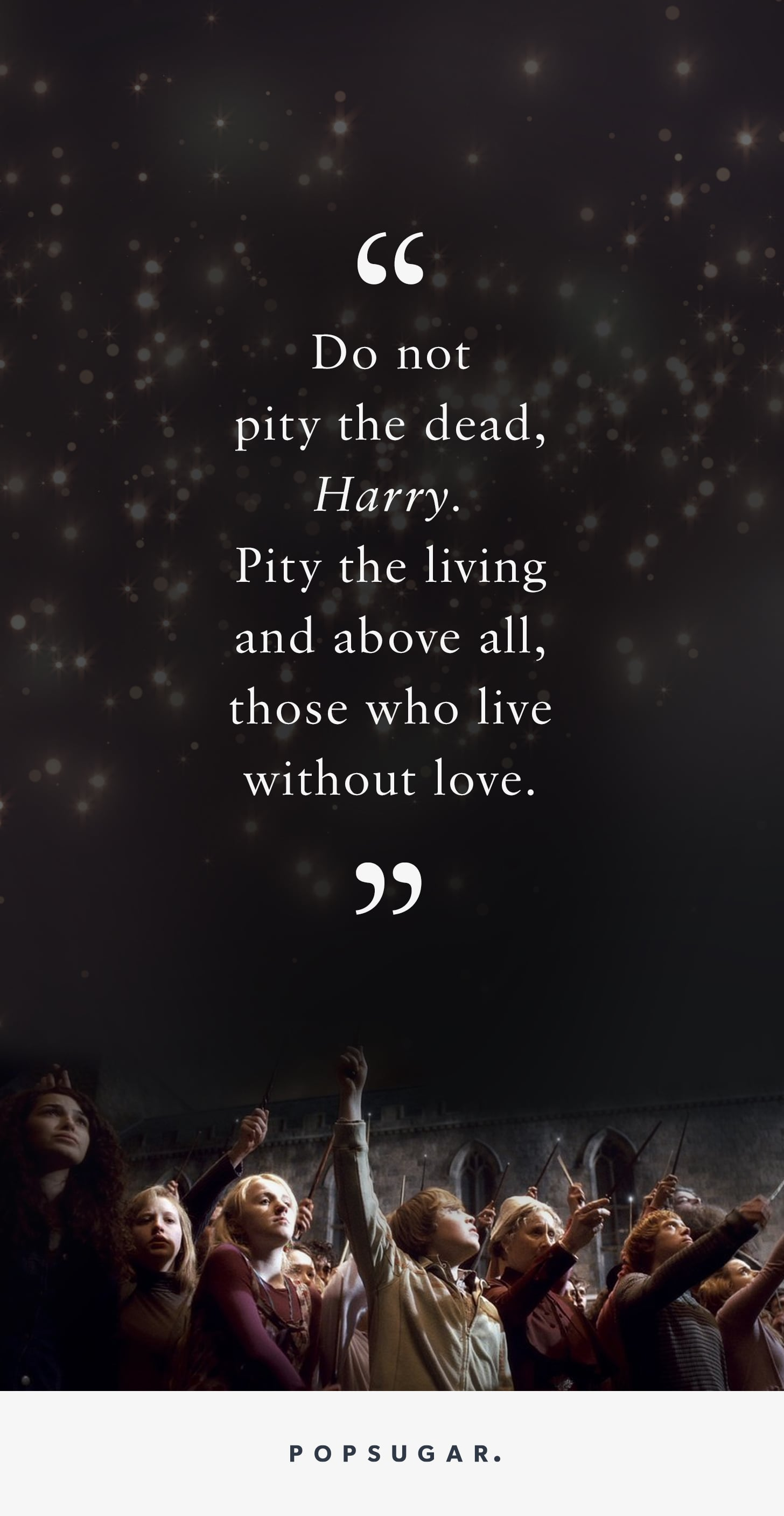love sex these harry potter quotes about loss are helping us