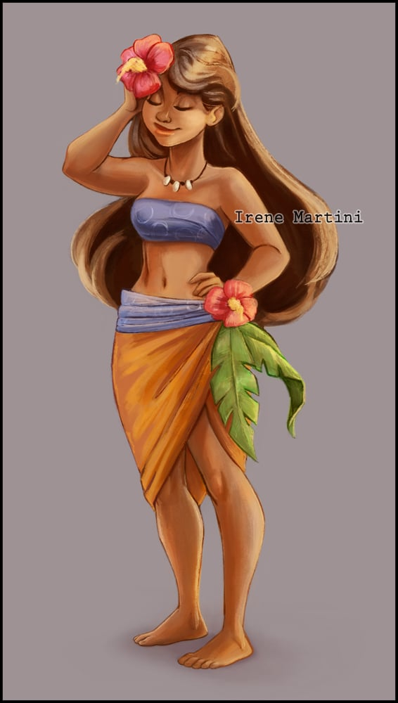 Moana Disney Princess Art