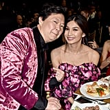 Ken Jeong and Gemma Chan at the 2019 Critics' Choice Awards