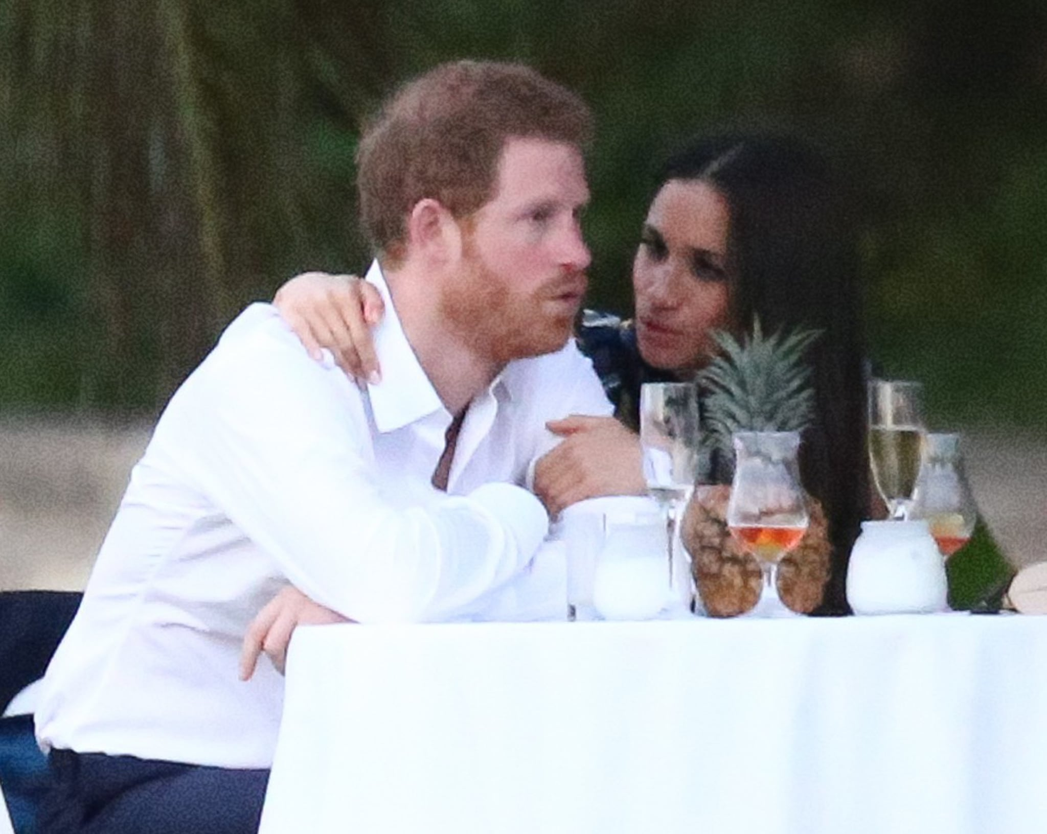 Boyfriend and girlfriend: Prince Harry and Meghan Markle