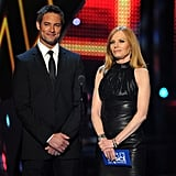 Josh Holloway and Marg Helgenberger