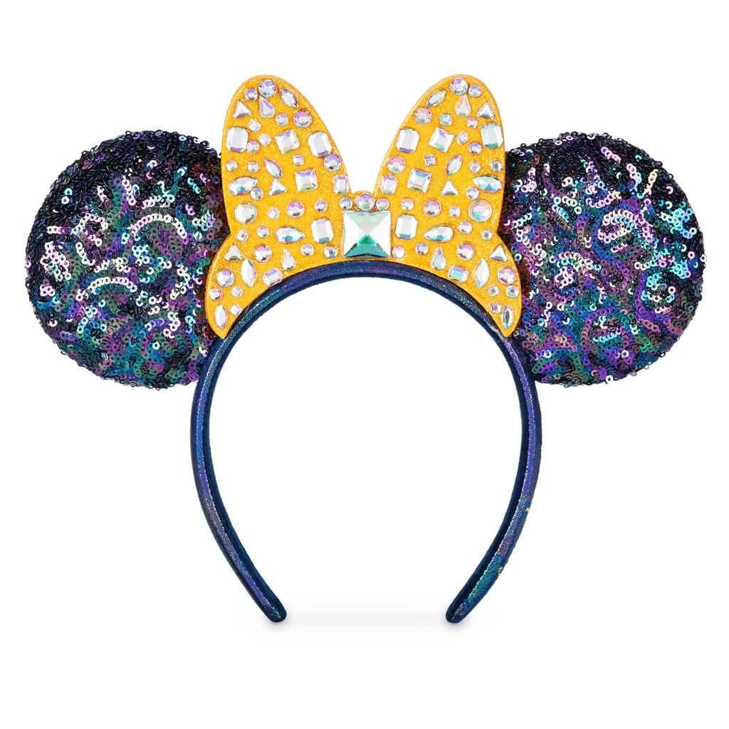 Minnie Mouse Jeweled Bow Ear Headband