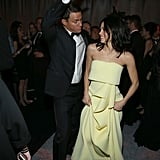 At the Weinstein Company and Netflix afterparty, Channing Tatum and Jenna Dewan let loose on the dance floor.