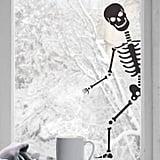 Nutmeg Peeping Skeleton Wall Sticker