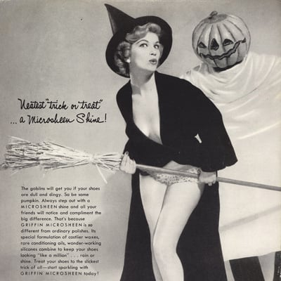 Vintage Halloween Ads.Vintage Halloween Ads Popsugar Love Sex