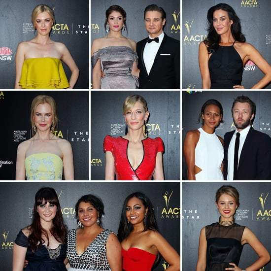 2013 AACTA Awards Red Carpet Celebrity Pictures