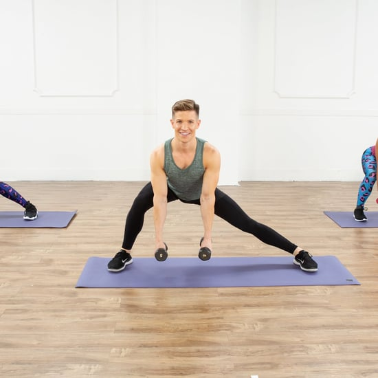 Live Workouts on @POPSUGARFitness Instagram Week of 4/6/20