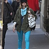 Drew Barrymore Embraces Brights For Another Romantic Parisian Day With Will