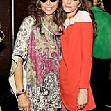 Steven Tyler and Frankie Rayder at Stella McCartney's Resort 2014 presentation. Source: Billy Farrell/BFAnyc.com