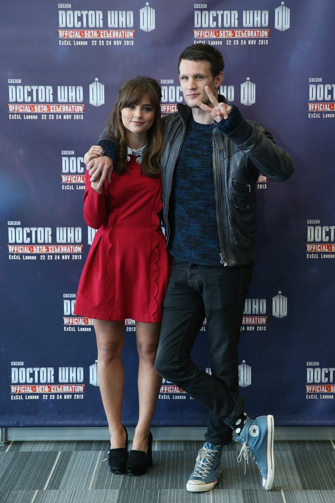 With Jenna Coleman