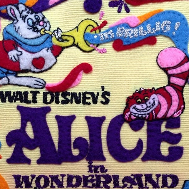 Olympia Le-Tan Alice in Wonderland Clutch