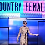 2012: She Took Home Favourite Country Female Artist