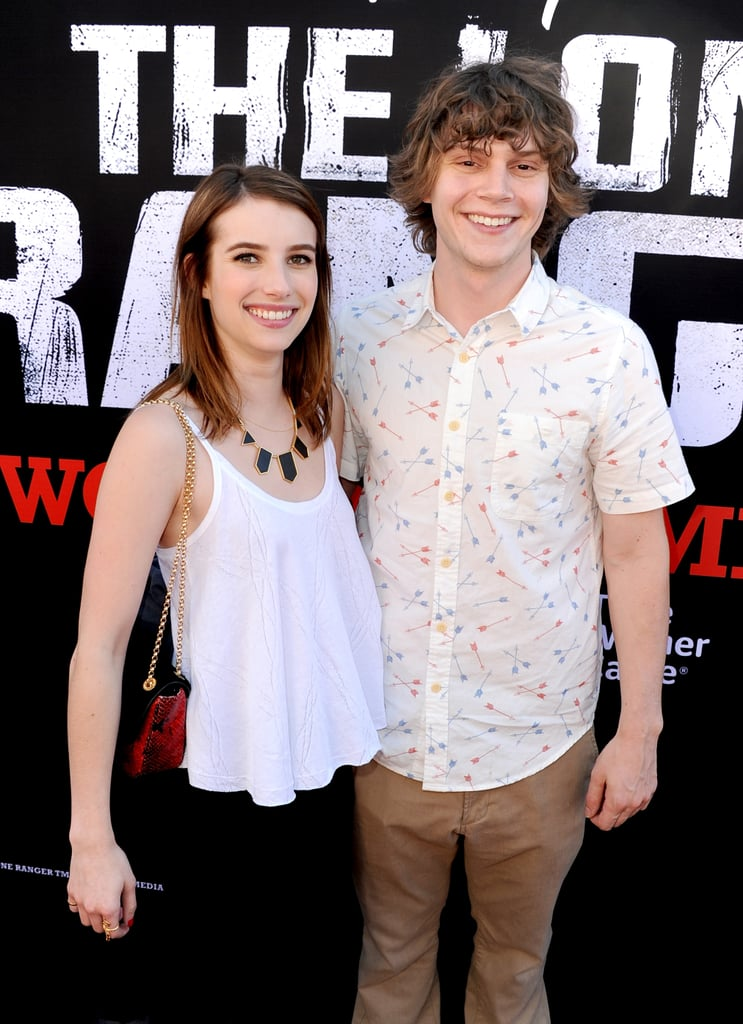 Emma and Evan popped up in LA for the premiere of The Lone Ranger in June 2013.