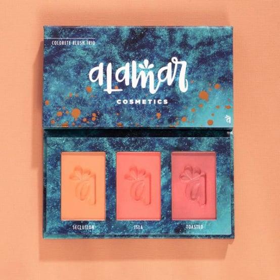 Colorete Blush Trio - Medium/Tan