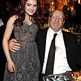 Modern Family's Ed O'Neill and Ariel Winter snapped a shot.