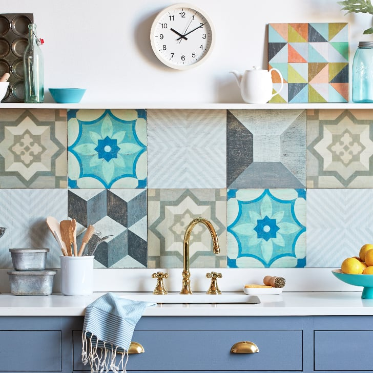 How to Install the Easiest Backsplash
