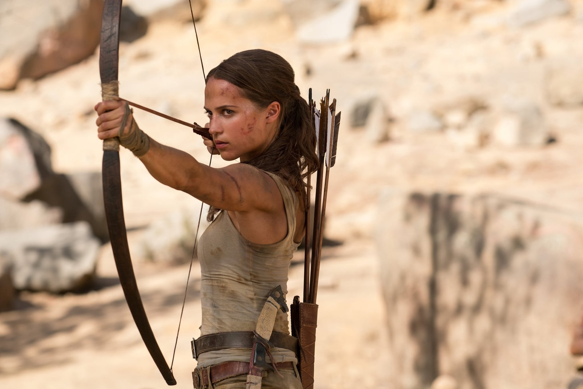 These 4 Workouts Helped Alicia Vikander Sculpt Her Insane Washboard Abs For Tomb Raider