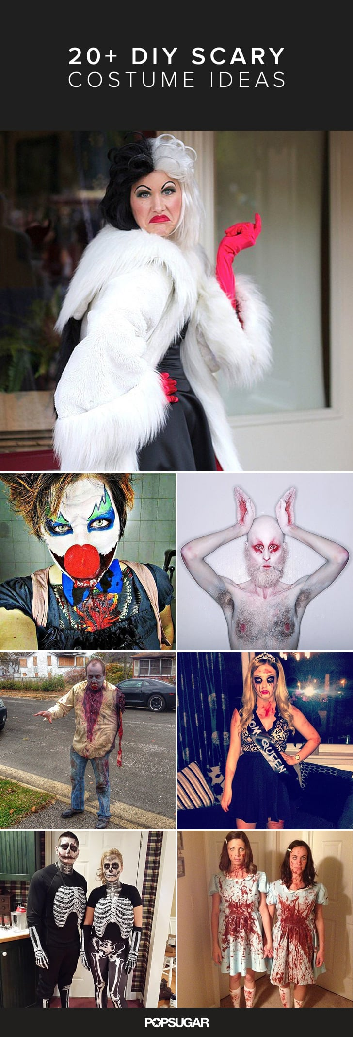 Scary Halloween Costumes Ideas For Adults.Diy Scary Halloween Costumes Popsugar Australia Smart Living