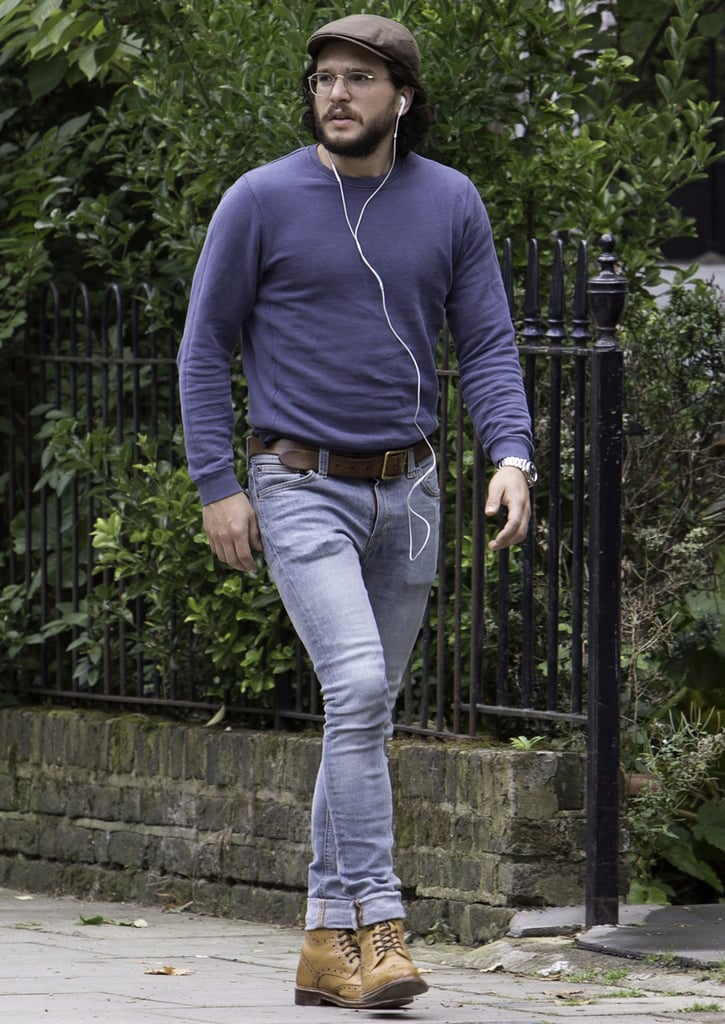 Kit Harington Wearing Very Tight Jeans
