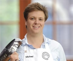 Interview With MasterChef 2011 Runner-Up Michael Weldon on The Snowman Dessert, New Website and Meeting Food Idols