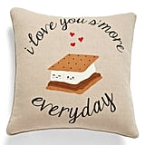 Love You S'more Accent Pillow ($40)