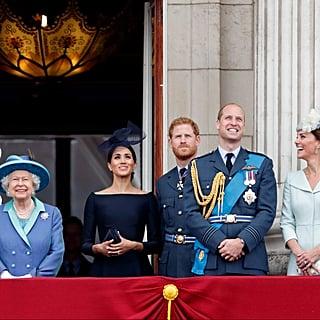 أين يعيش أفراد الأسرة المالكة ببريطانيا؟