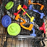 Wash Plastic Toys in the Dishwasher