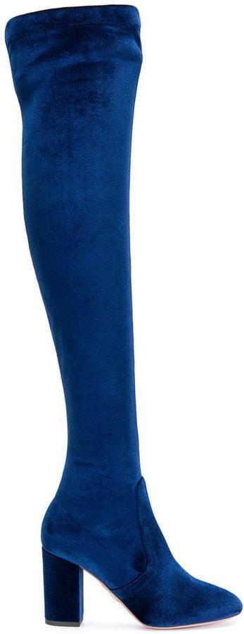 Aquazzura So Me 85 Thigh-High Boots