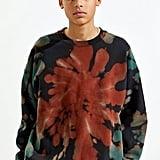 iets frans… Tie-Dye Crew Neck Sweatshirt