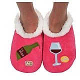 Snoozies Classic Splitz Applique Slippers