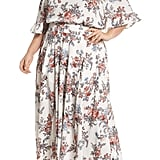 Glamorous Print Off-the-Shoulder Maxi Dress