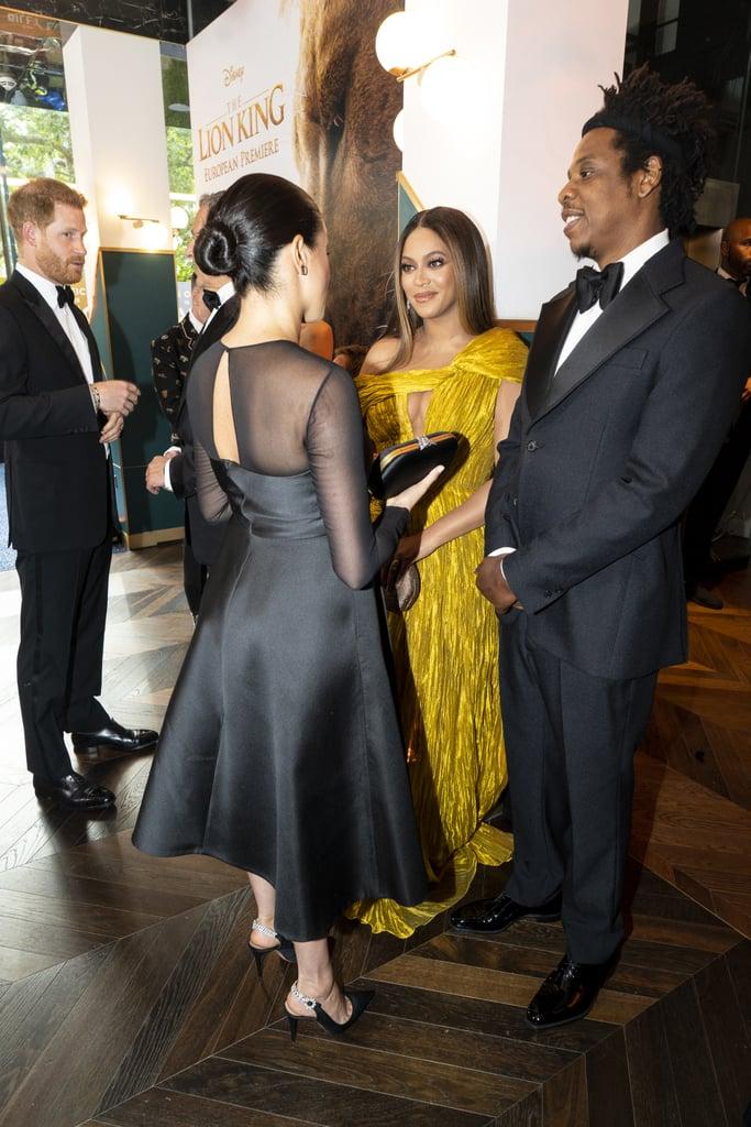 Beyoncé's Dress at The Lion King Premiere in London